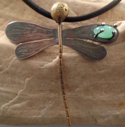 1/26/2017 10:30am - 6:00pm Kim St. Jean Dragonfly Pendant
