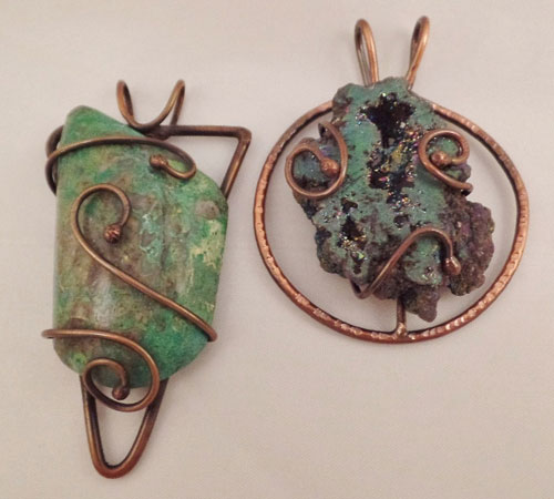 1/28/2017 10:30am - 2:00pm Kim St. Jean Brazed Armature Pendant