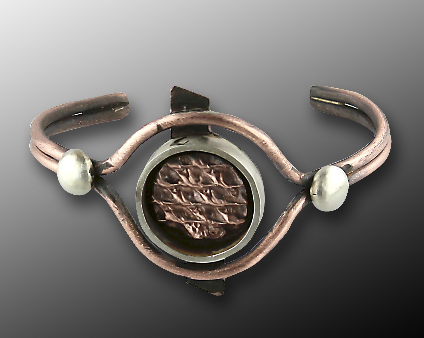1/31/2017 10:30am - 6:00pm Janet Alexander Crinkle Shadow Box Bracelet