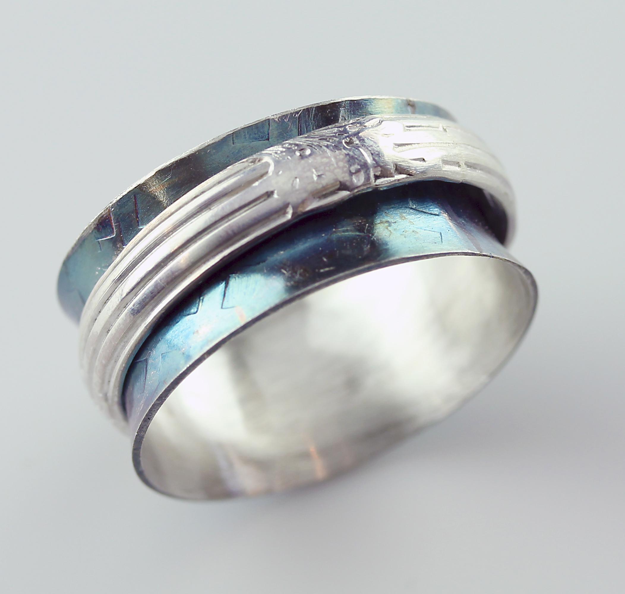 2/03/2017 10:30am - 6:00pm Janet Alexander Argentium Spinner Ring