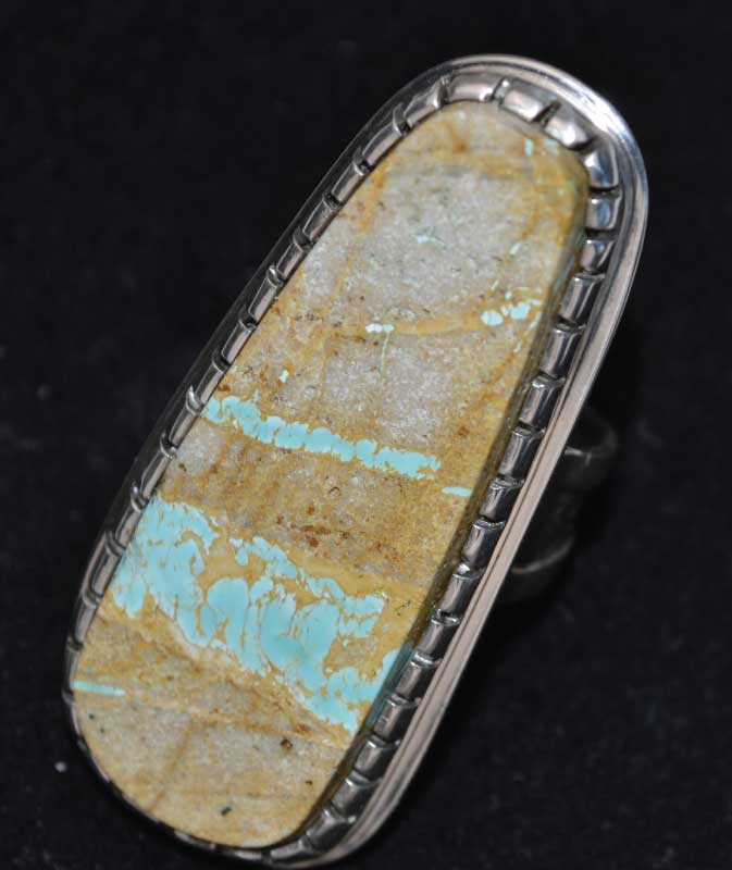 2/06/2017 10:30am - 4:00pm Jeff Fulkerson Cabochon Ring with Heavy Set Bezel