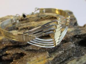 Art Deco Bracelet by Ronda Stevens