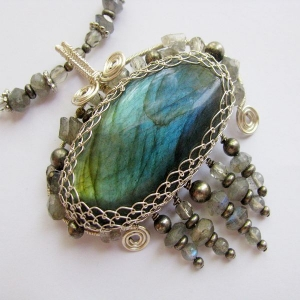 Make a Victorian Wirework Necklace - Squidoo : Welcome to Squidoo