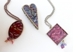 1/30/2015 10:30am - 2:00pm Eva Sherman Painted Pins & Pendant