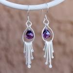 1/31/2015 10:30am - 2:00pm Albina Manning Waterfall Earrings