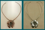 9/11/2016 10:30am - 6:00pm Joni Kisro Fabulous Flower Choker