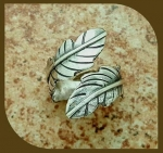 9/08/2016 2:30pm - 6:00pm Joni Kisro Wrap Around Feather Ring