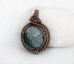 1/27/2017 2:30pm - 6:00pm Albina Manning All Wrapped Pendant