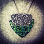 1/30/2017 10:30am - 6:00pm Gail Stouffer Metal Clay960 Pendants: Metal Clay and Glass Connections
