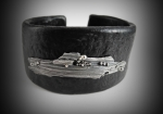 2/03/2017 10:30am - 6:00pm Donna Lewis Textured, Riveted Cuff Bracelet