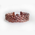 1/25/2018 10:30am-2:00pm Albina Manning Basket Weave Wire Bangle