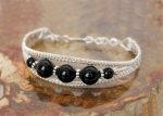 1/27/2018 2:30pm-6:00pm Albina Manning Beads In Wire Woven Bangle