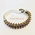 1/30/2018 10:30am-2:00pm yin guang Beaded Kumihimo Hook Bracelet