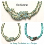 1/31/2018 2:30pm-6:00pm yin guang Beaded Mermaid Kumi Necklace