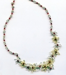 2/3/2018 10:30am-2:00pm Melody MacDuffee Sculpted Floral Necklace