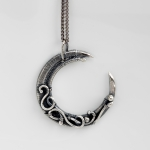 2/3/2018 10:30am-2:00pm Sarah Thompson Crescent Moon Pendant
