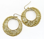 2/4/2018 2:30pm-6:00pm Melody MacDuffee Curlicue Lace Earrings