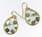 2/9/2019 2:30pm-6pm Melody MacDuffee Floral Earrings