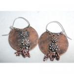 Tribal Copper Earrings