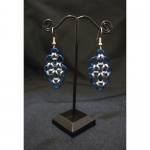 Marquise Chainmaille Earrings