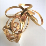 Wire Ribbon Cuff