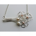 Bunch of Flowers Necklace
