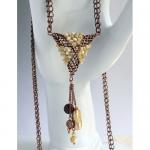 Fancy Pyramid Necklace