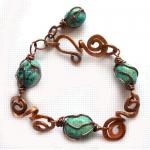 Rustic link bracelet