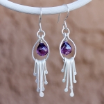 1/31/2015 10:30am - 2:00pm Albina Manning Waterfall Earrings