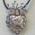 1/31/2019 10:30am-6pm Kim St. Jean Sterling Silver Milagro Locket