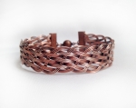 2/1/2019 2:30pm-6pm Albina Manning Basket Weave Wire Bangle