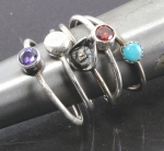 2/10/2019 10:30am-2pm Debora Mauser  3 Stack Rings