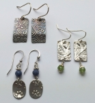 1/31/2020 2:30pm-6pm Lyle Rayfield Easy Earrings In Silver Clay