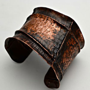 Form Folded Copper Cuff