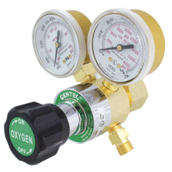 Sol 200 25 Gentec Small Torch Regulators Oxygen Regulator