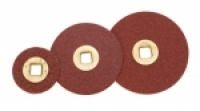 Adalox Brass Center Sanding Discs, 7/8 Inch, Fine Grit, Box of 100||ABR-159.01