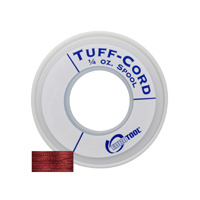 Tuff-Cord Beading Cord, Red, Size 1, 98 Yards||BDC-505.01