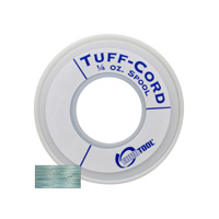 Tuff-Cord Beading Cord, Turquoise, Size 1, 98 Yards||BDC-513.01