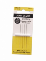 English Beading Needle, #12, 48 Needles||BDN-104.12