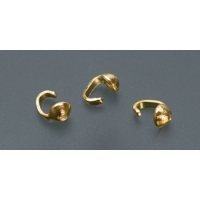 Gold Plated Bead Tip, Single Cup, Pack of 144||BDS-210.05