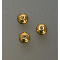 Gold Plated Seamed Beads, 4 Millimeter, Pack of 1000||BDS-244.05