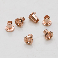 "EYELETS 1/8"" COPPER PLATED- PK/24