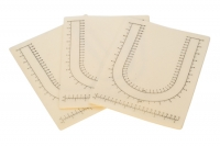 Imprinted Bead Mat, 12-1/2 by 9-1/2 Inches, Pack of 3||BDT-340.00