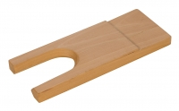 Bench Pin, With Cutout, 7 Inches by 2-3/4 Inches||BPN-107.10