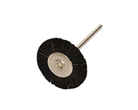 "SUPER 3/4"" MOUNTED BRISTLE BRUSH - STIFF
