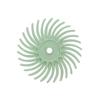 Radial Disc, Light Green, 9/16 Inch, 1 Micron, Pack of 12||BRS-570.90