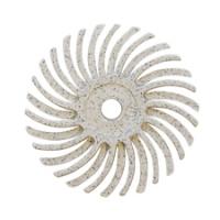 Radial Disc, White, 3/4 Inch, 120g, Pack of 12||BRS-580.40