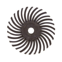 Radial Disc, Dark Brown, 1 Inch, 36g, Pack of 12||BRS-590.10