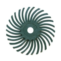 Radial Disc, Green, 1 Inch, 50g, Pack of 12||BRS-590.20
