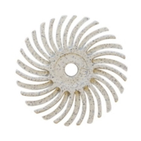 Radial Disc, White, 1 Inch, 120g, Pack of 12||BRS-590.40